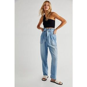 We The Free Bombay Belted Pant. NWOT